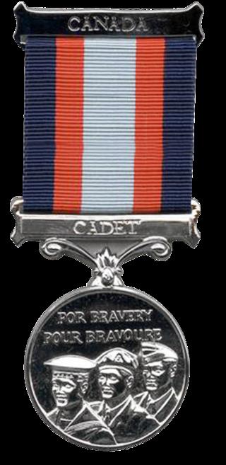 Cadet Award for Bravery Medal