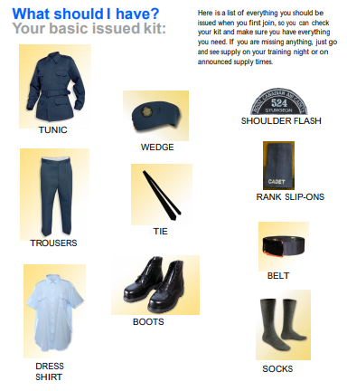 Uniform Basic Kit
